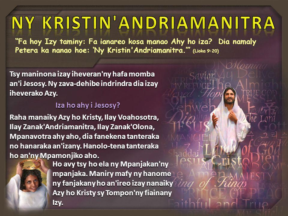 NY KRISTIN ANDRIAMANITRA