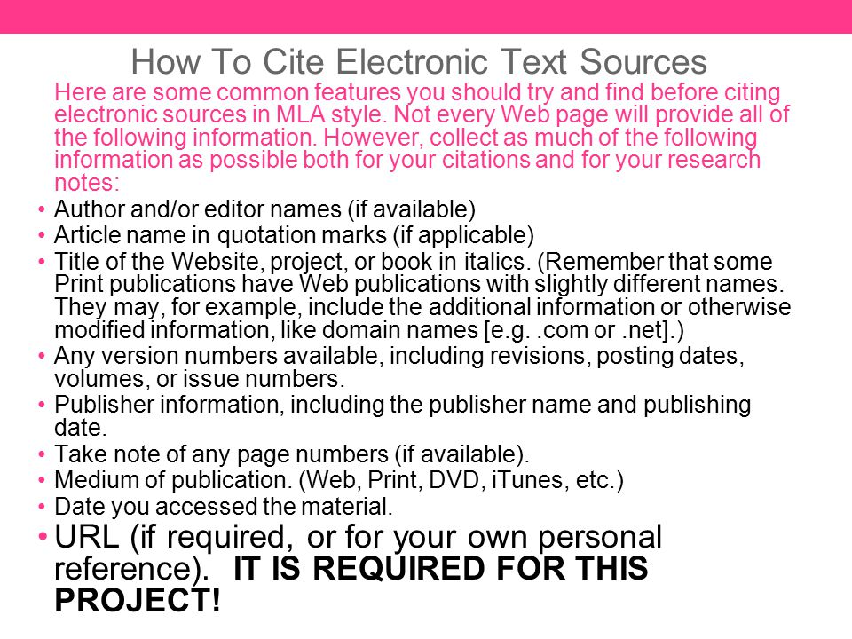 How to Cite Sources in a Research Paper