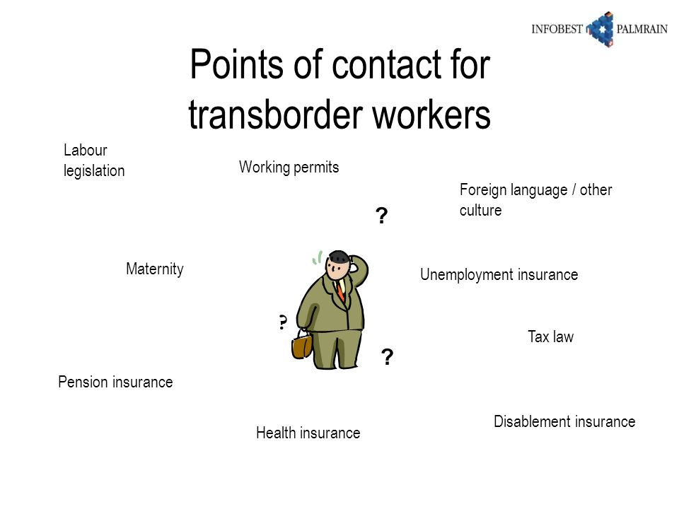 Points of contact for transborder workers
