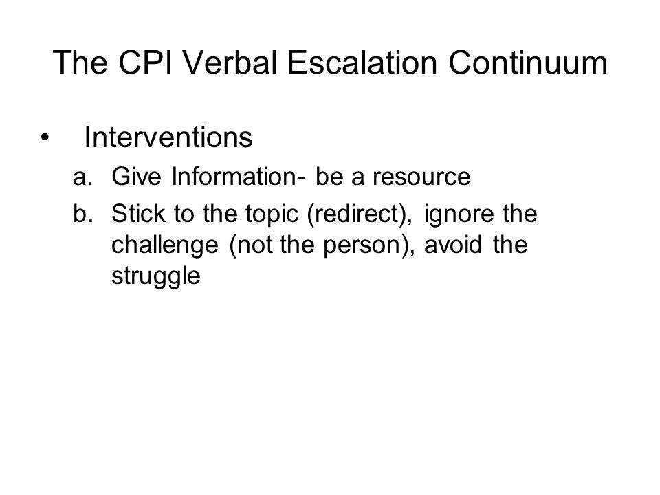 nonviolent crisis intervention u00ae training program