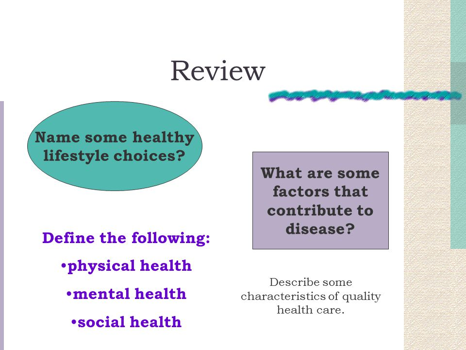describe a healthy lifestyle People establish an active lifestyle and healthy eating habits early in life and to maintain these behaviors  promoting healthy eating and physical activity (and .