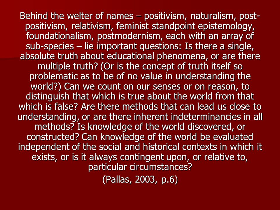 "positivism a key concept in sociology Introduction to sociology  a key insight of sociology is that the simple fact of  in contemporary sociology, positivism is based on four main ""rules."