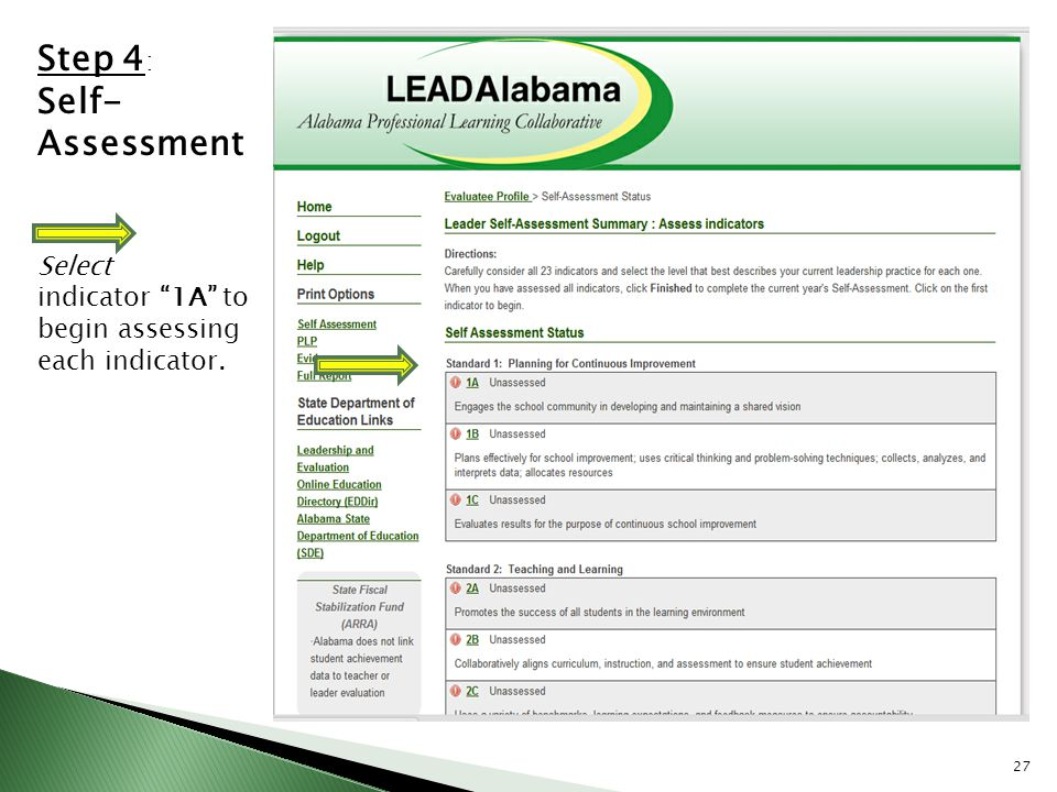 Leadalabama Implementation Training Educatealabama/Leadalabama