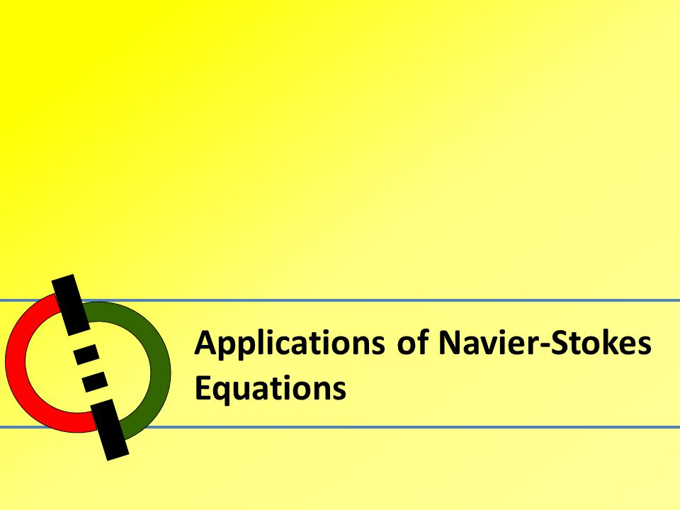 Applications of Navier-Stokes Equations