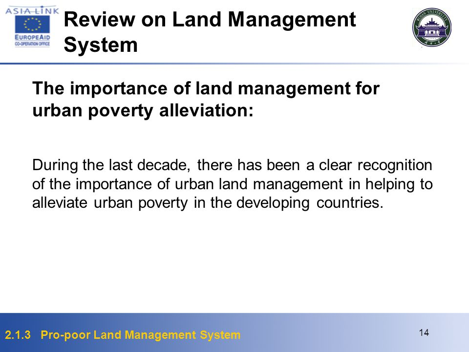 Review on Land Management System