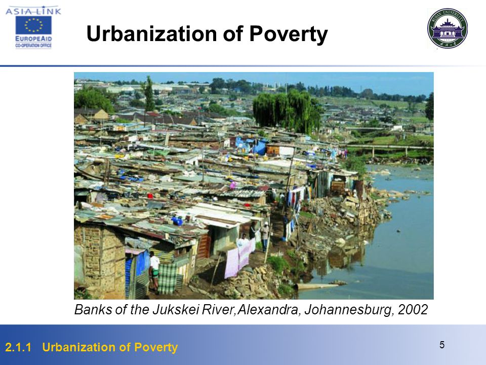 Urbanization of Poverty