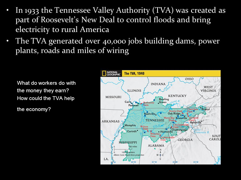 a look at the success of the tennessee valley authority in its mandate Tennessee valley authority: one called mandate for leadership from the heritage foundation and one called avoiding the policy is generally seen as a success.