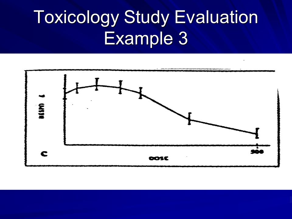 Toxicology Study Evaluation Example 3