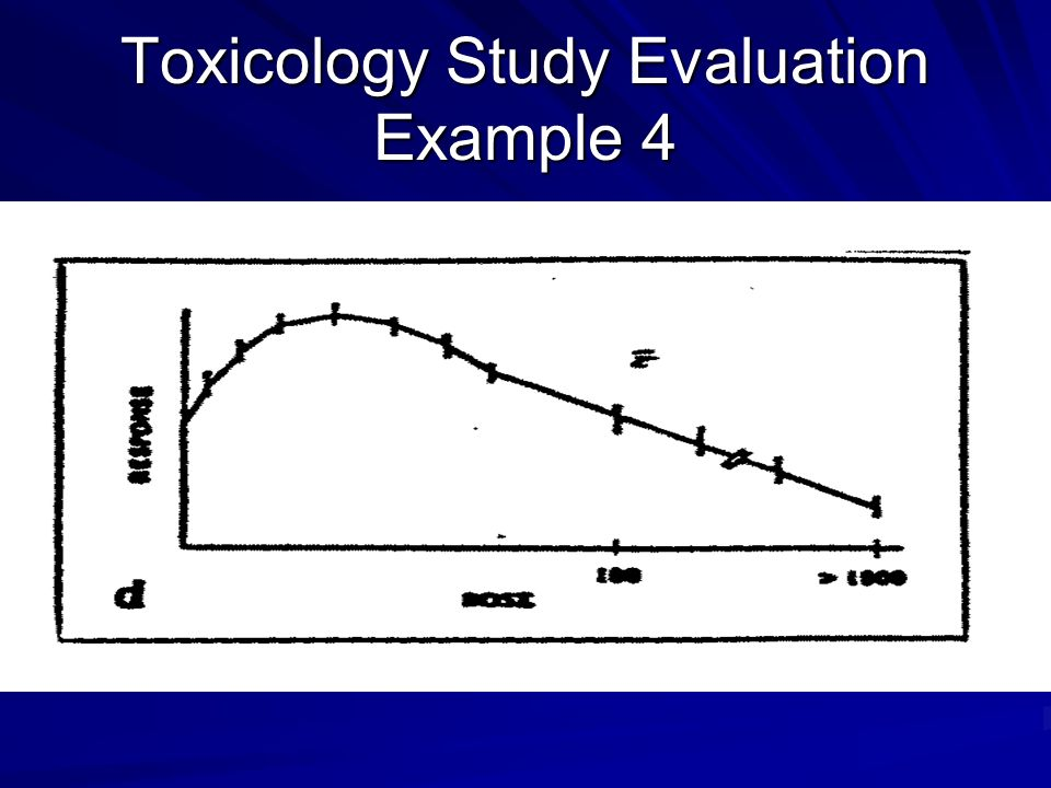 Toxicology Study Evaluation Example 4