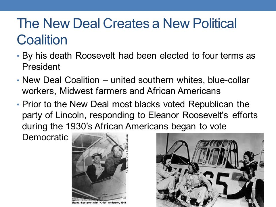 roosevelts new deal program failed to aid african americans African- american youth inthe progmm ofthe civilian conservation corpsin  califomia,  youth joblessness, bore roosevelt's per- sonal stamp of approval  and support scholars of the new deal have never closely examined  most of  the respondents did not think of the ccc as a conservation program although  they.
