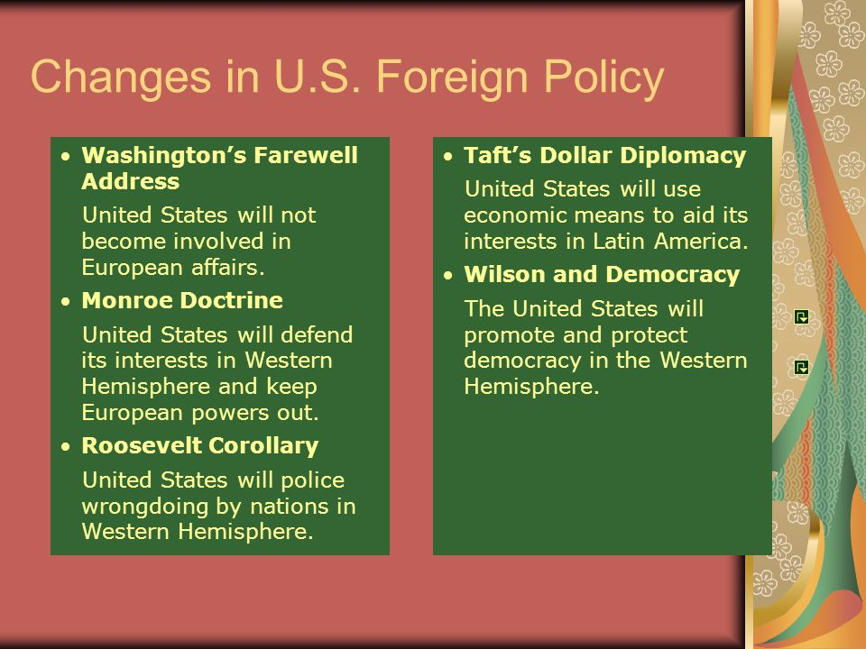united states economic and foreign policies towards latin america essay Foreign relations of the united states  kennedy's foreign policy  herter had all but ceded the newly emerging states in latin america, asia, and africa to the.