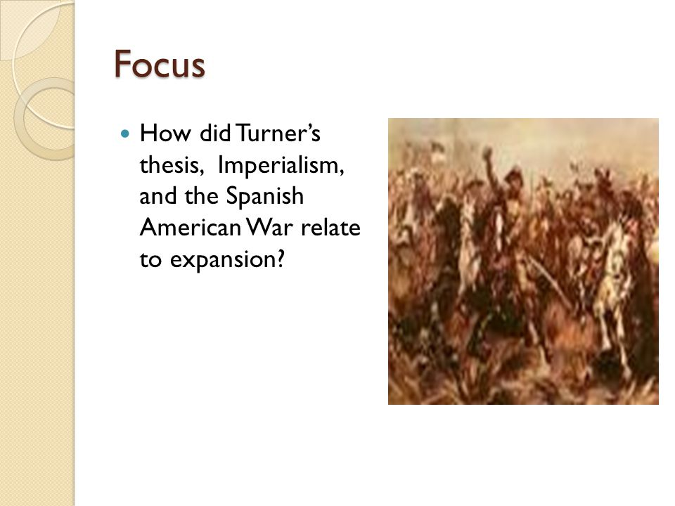 turner thesis lesson plan Get an answer for 'what did frederick jackson turner's frontier thesis in 1893  meancould you  american historians have continued to be fascinated by  turner's thesis, and it has had significant academic influence  his ideas were  an instant hit  literature study guides new study guides literature lesson  plans.