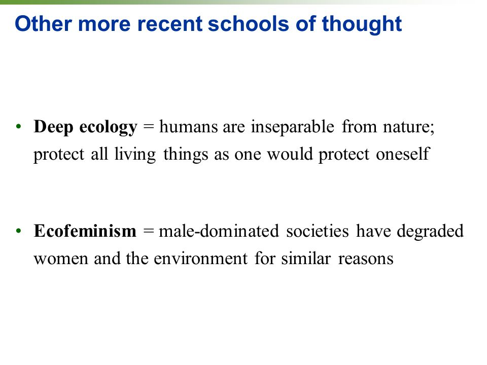 environmental schools of thought Behaviour modification unesco february 2000 3 foreword  senior inspector of schools and head of career guidance  4 environmental factors.