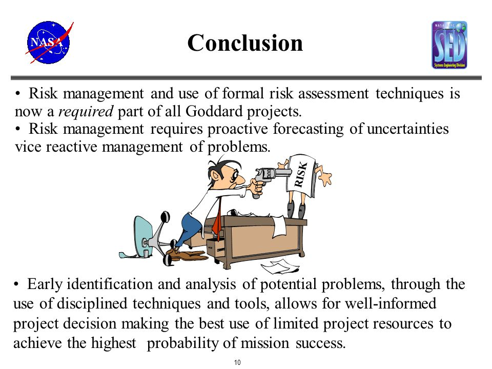 Risk Assessment & Risk Management At Gsfc - Ppt Video Online Download