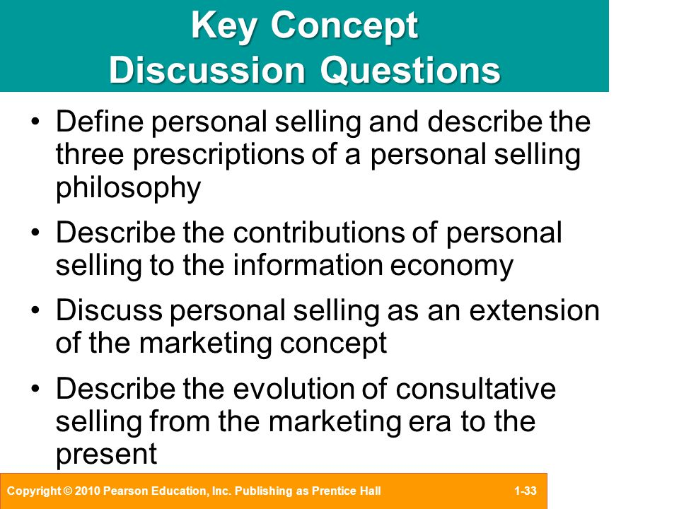 discussing the concepts in marketing 1 chapter 1 introduction: pricing as an element of the marketing mix a nytime anything is sold, there must be a price involved the focus of this book is to present concepts, principles, and techniques that provide guidance to help a seller set the.