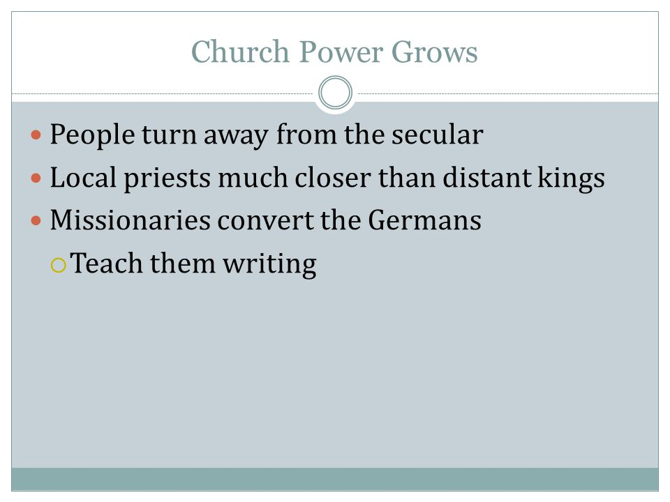 secular kings and the church during Catholicism and what has been the role of the roman church  during the dark ages, a european king could not hope to retain his kingdom unless he had the blessing of rome  it would be stretching a point to refer to roman catholicism as an empire in the secular sense of the word but as a spiritual empire, it has no equal.