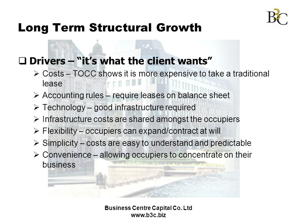 Long Term Structural Growth