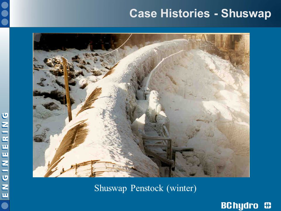 Case Histories - Shuswap