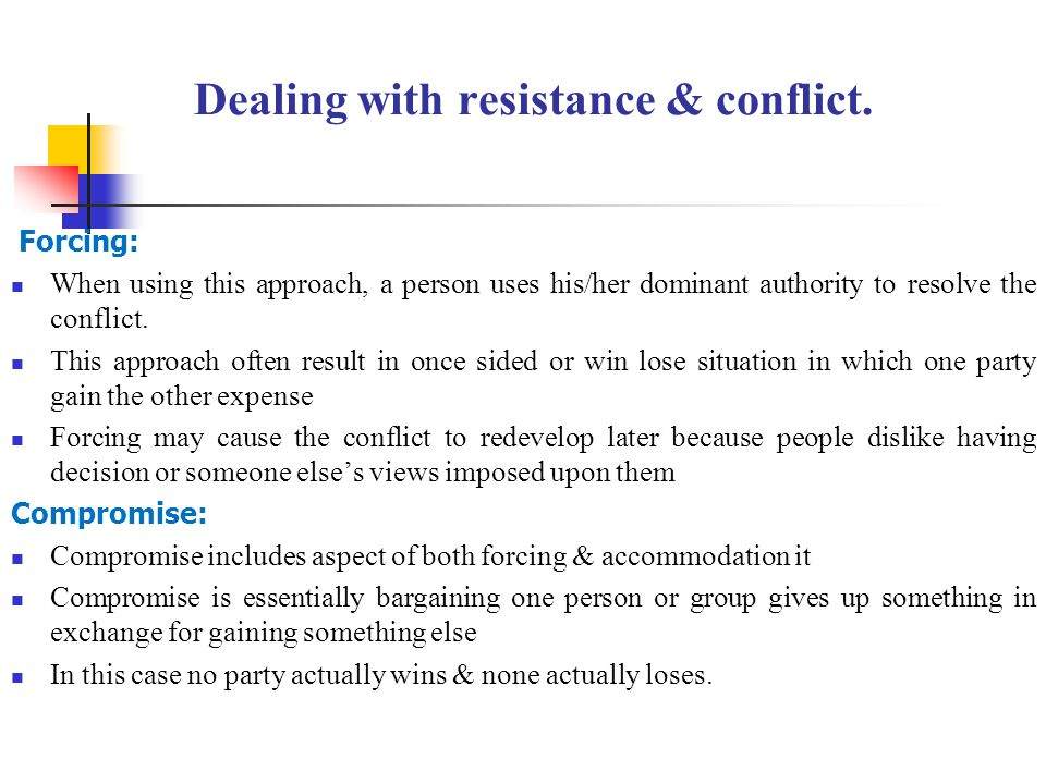 dealing with and managing resistance to Managing resistance to improvement february 26, 2015 by ahmed  helping  people deal with concerns over improvement people confronted by altered.