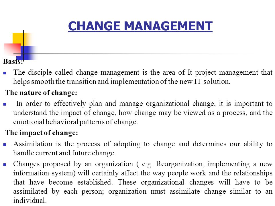 change affecting the current organization The business environment your company moves through is made up of internal and external elements external elements include technology, law, politics, competition, media and trends internal environmental factors include management, your physical assets, cash flow, your business's culture and the knowledge and skill of your workforce.