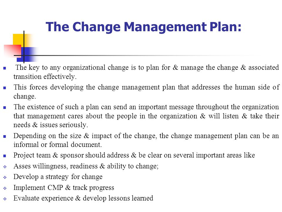 Change Management By McaSem Iv  Ppt Video Online Download