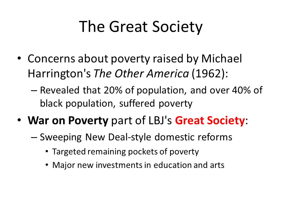 the fight against poverty in the other america by michael harrington Others claim that socialist michael harrington's book the other america the fight against poverty was at the same time as it was fighting poverty.