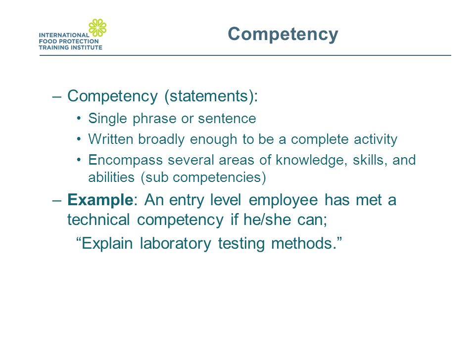 competency statement iii complete Free essays on cda competency statement 3 for infants and toddlers get help with your writing 1 through 30.