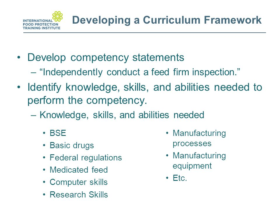 how developing professional knowledge and abilities The curriculum should include the skills and knowledge of greatest  chemistry  education should develop students' ability to objectively.