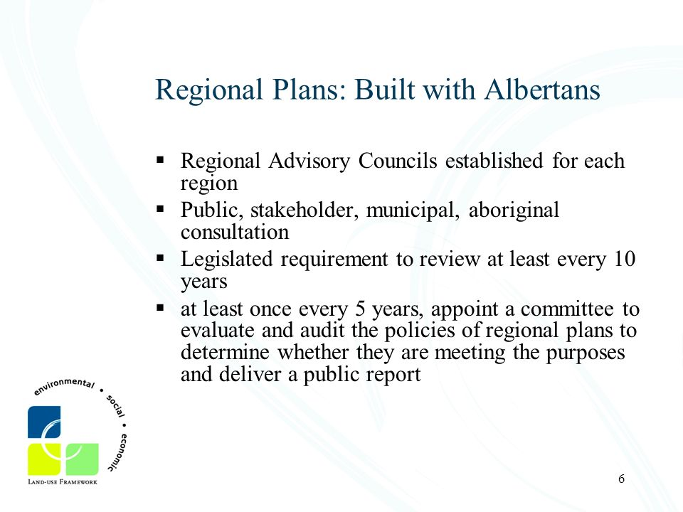 Regional Plans: Built with Albertans