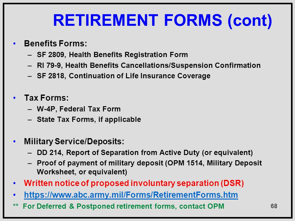Army Benefits CenterCivilian ppt download – Dd 214 Worksheet
