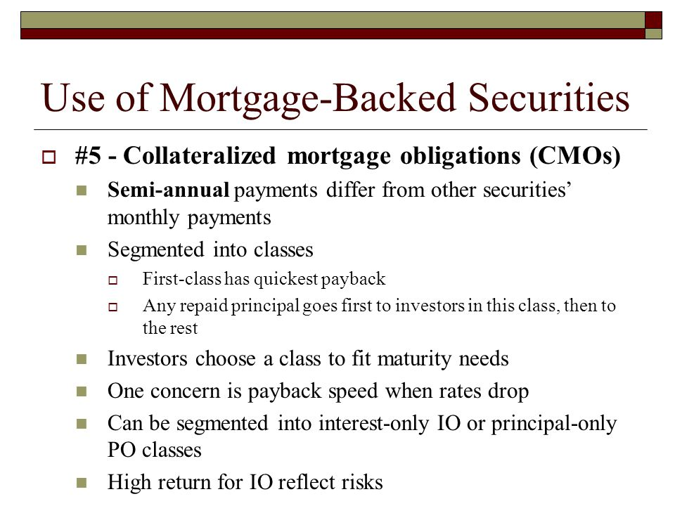 Definitive List Of Mortgage Backed Securities ETFs