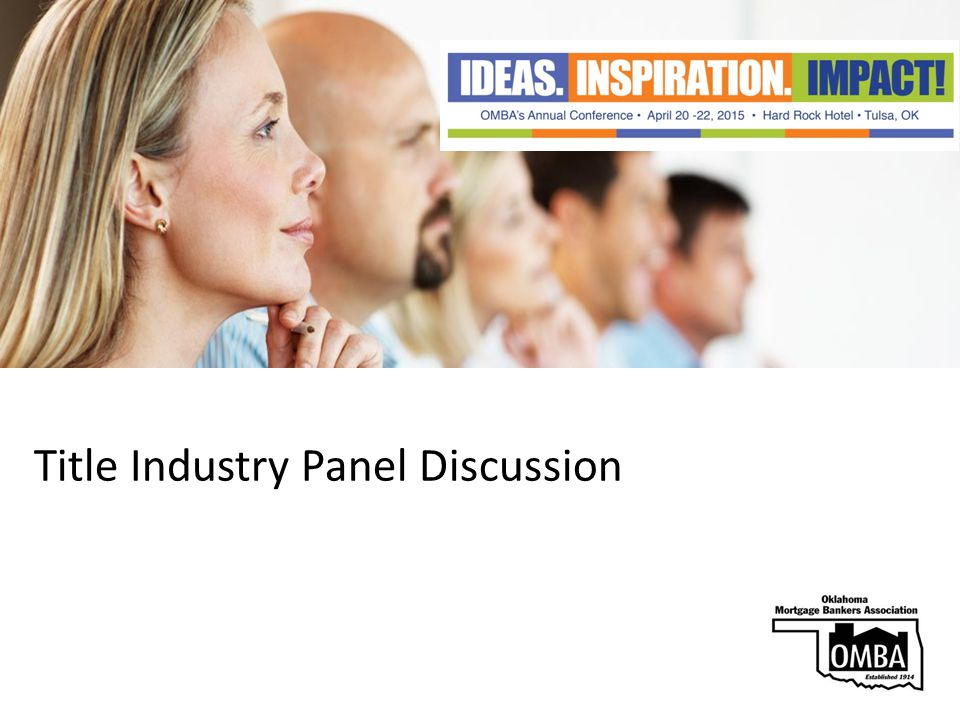 Title Industry Panel Discussion