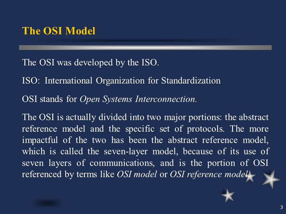 the osi model and its organization A description of the osi model, why it's important, and an overview of its uses  within the wireless industry the open system interconnection.