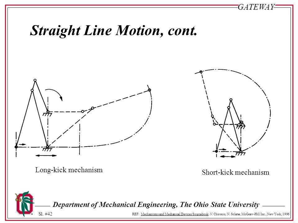 Straight Line Motion, cont.