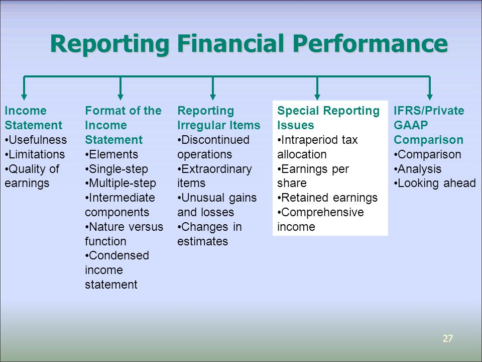 revenue effects on financial reporting This standard has the potential to be one of the biggest changes ever in financial  reporting because it impacts virtually every financial statement.