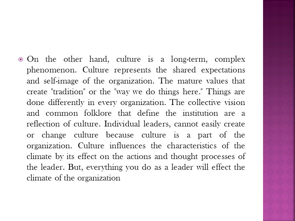 the culture in complex organisations Culture change in the digital age by ruth oliver  on the titanic of incumbent organisations conversely, a culture that has a bias for action is customer-centric .
