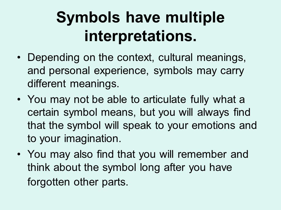 symbolism in literature ppt  10 symbols
