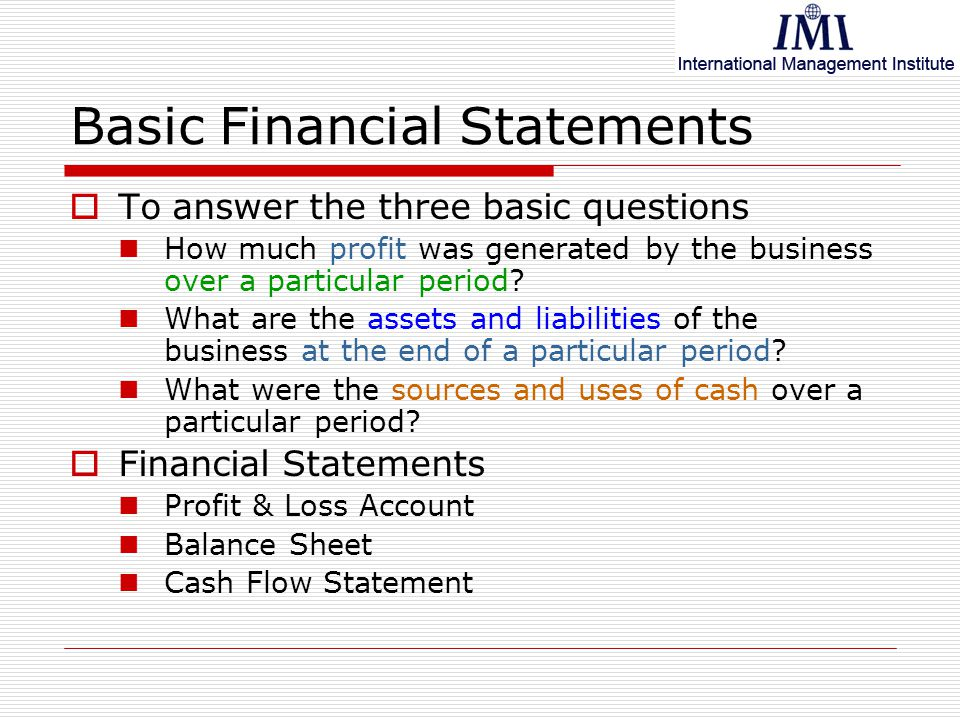 identify the four basic financial statement General-purpose financial statements are issued throughout  financial statement  because it consists of the basic financial statements that can be.