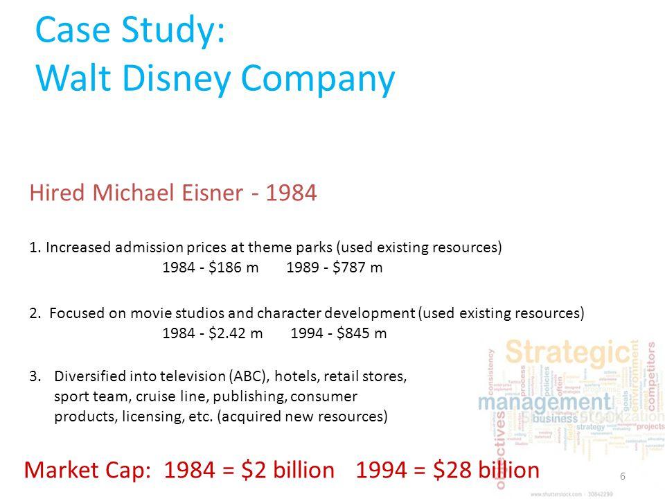 walt disney company swot analysis