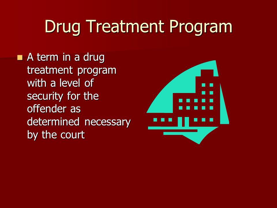 Drug Treatment Program