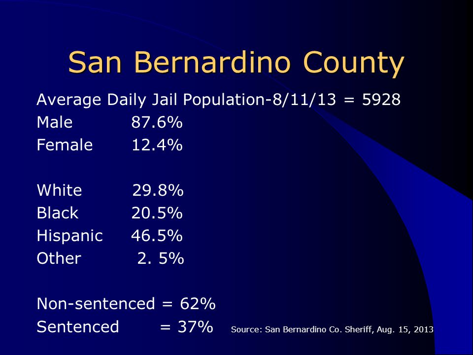 hispanic singles in san bernardino county San bernardino is a city located in san bernardino county, californiaas of 2013, its population was 213,708 city government see also: mayor-council government and council-manager government.
