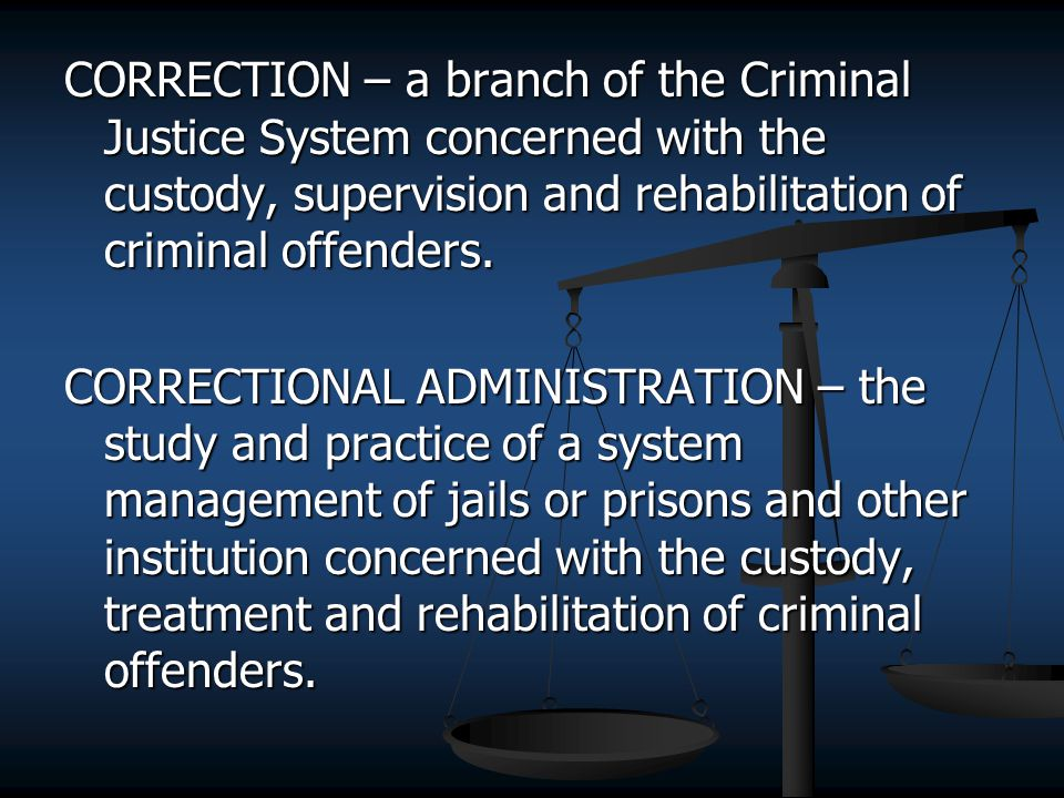 criminal rehabilitation  the effectiveness of punishment compared to rehabilitation of convicted offenders in prison and community supervision jesse rountree ajs/502 survey of justice and security february 10, 2014 john baiamonte the argument between rehabilitation and punishment has been a long standing and indecisive.