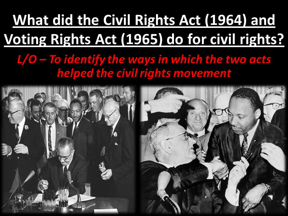 why did the civil rights movement The civil rights movement did not end in 1968 it shifted to a new phasethe long  official story line of the civil rights movement runs from montgomery to memphis,.