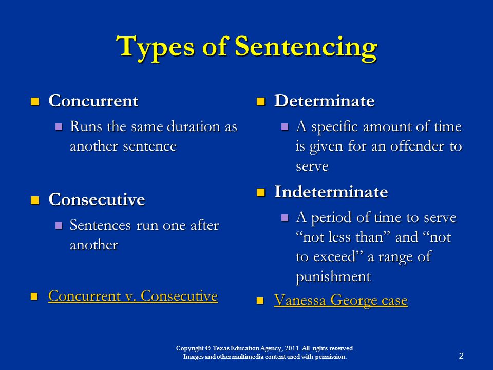 Determinate Sentencing vs. Indeterminate Sentencing Essay