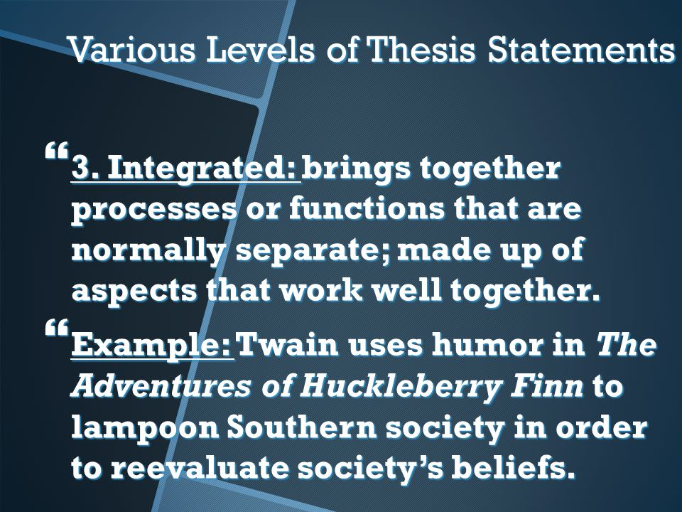 thesis statements on one flew over the cuckoos nest