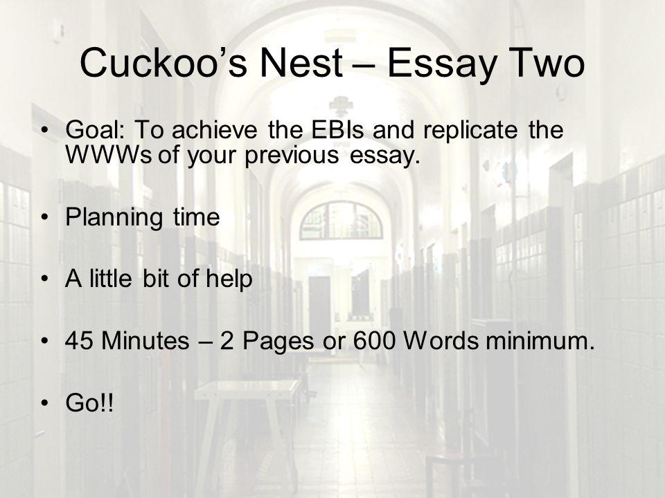 Cuckoos nest essays