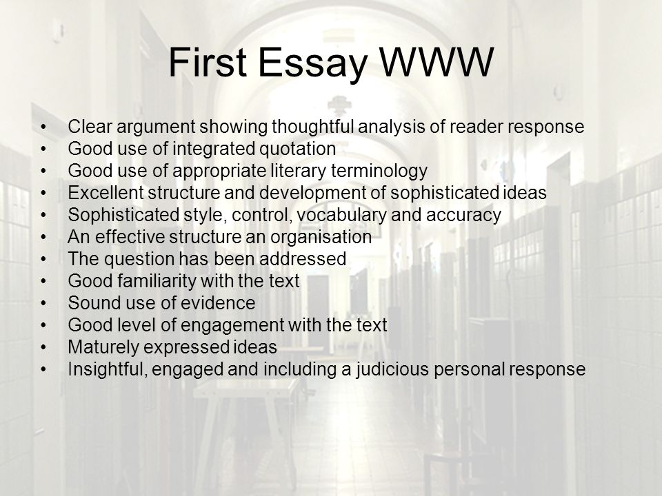 clear essay Essayoneday provides students with professionally written essays, research papers, term papers, reviews, theses, dissertations and more once you use essayoneday for your paper writing needs, you won't need to try any other services.