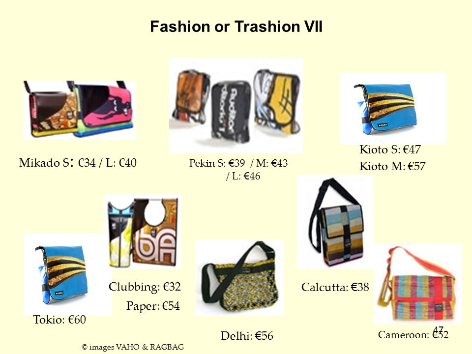 Fashion or Trashion VII