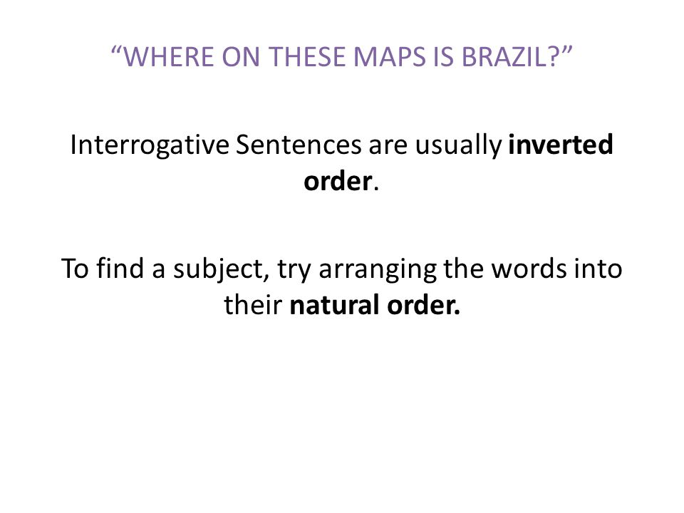 WHERE ON THESE MAPS IS BRAZIL