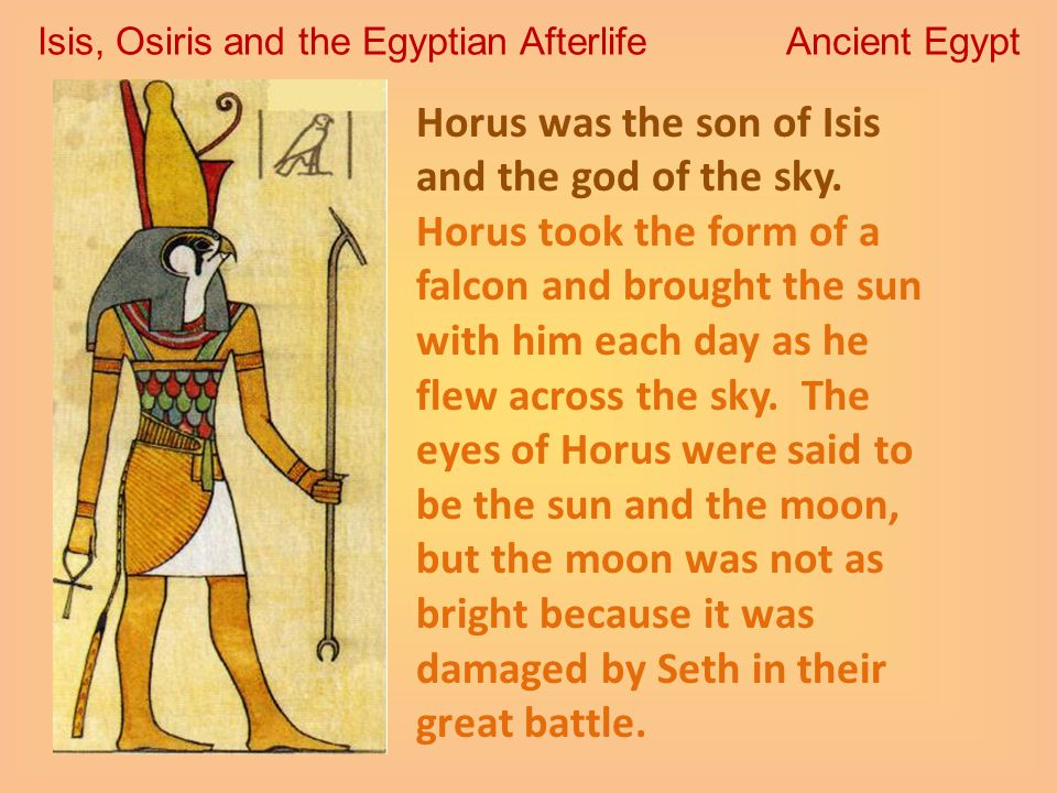 Isis, Osiris and the Egyptian Afterlife Ancient Egypt ...